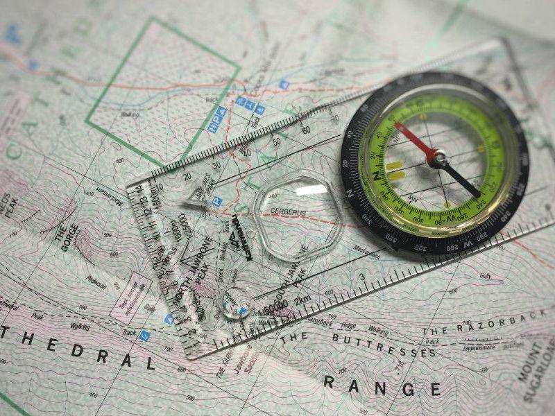 Map Skills: Compass