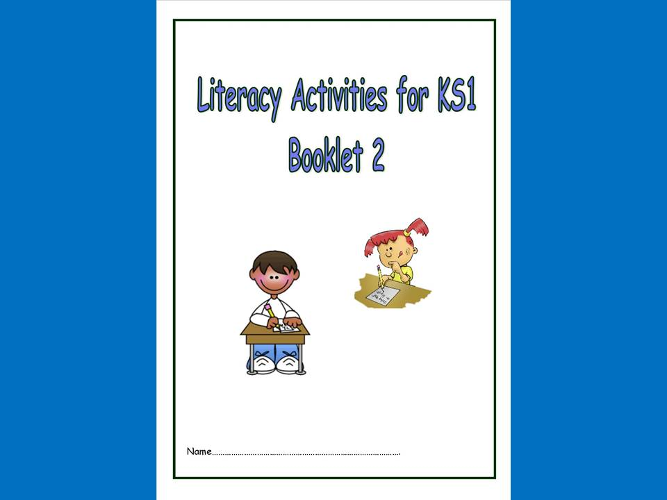Literacy/SPAG/Reading Activities for KS1, booklet 2