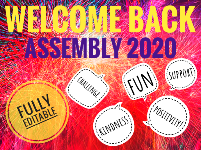 Happy New Year 2020 Back to School Assembly