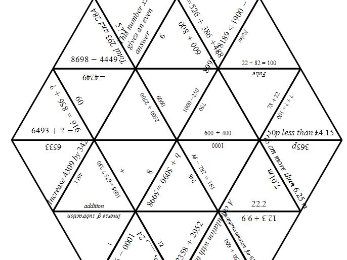 Maths Tarsia - KS2