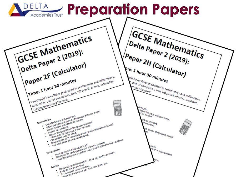 GCSE Paper 2 Preparation Papers