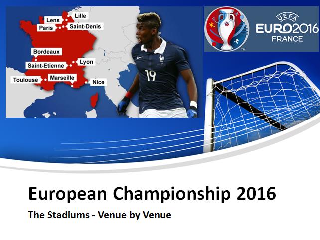 European Championships - A Venue Guide (Maths)