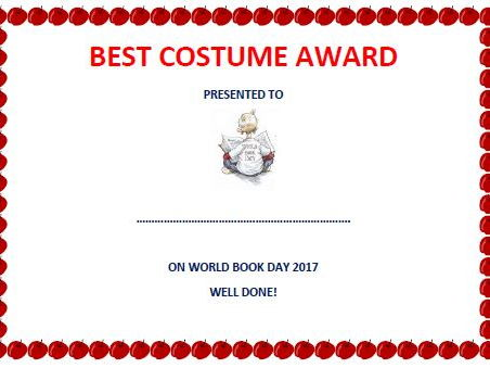 Best costume certificate world book day by simonh teaching best costume certificate world book day by simonh teaching resources tes yadclub Image collections