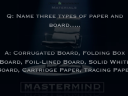 Mastermind Materials - Graphic Products