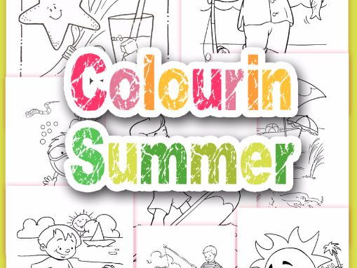 Coloring Summer