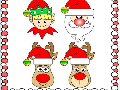 Cut and Paste Christmas Crafts