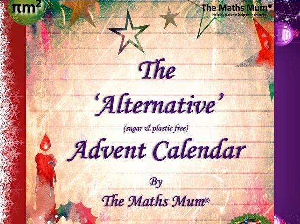'Alternative' Advent Calendar - KS1 Maths