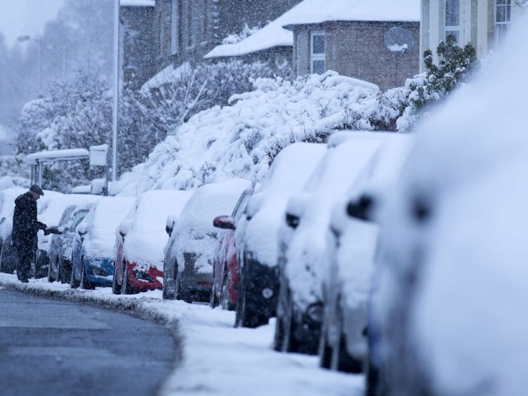 """KS3 Geography """"Beast from the East"""" Activity"""