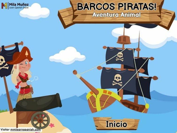Barcos Piratas - Aventura Animal