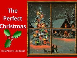 The Perfect Christmas Descriptive Writing Lesson