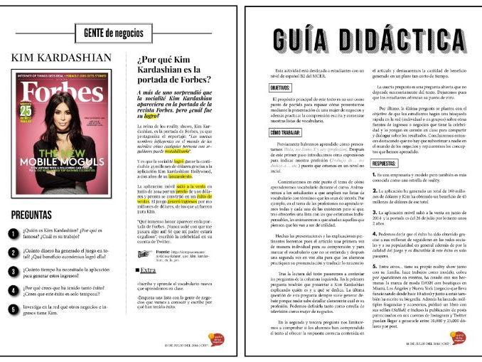 Español de los negocios - Kim Kardashian