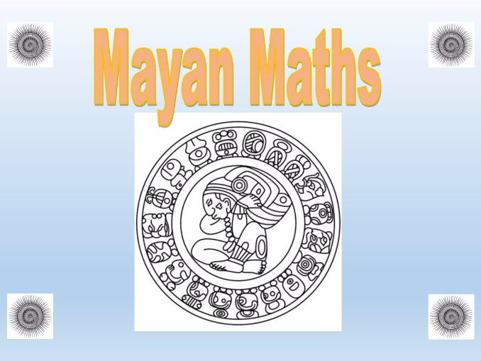 Mayan Maths Worksheets, differentiated 3 ways with Answers & Teachers DIY Workbook