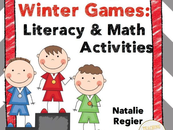 Winter Games: Tiered Literacy and Math Activities