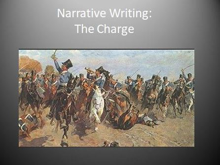 Narrative Writing: The Charge