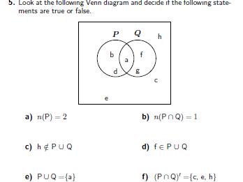Sets-Set notation-Venn diagrams