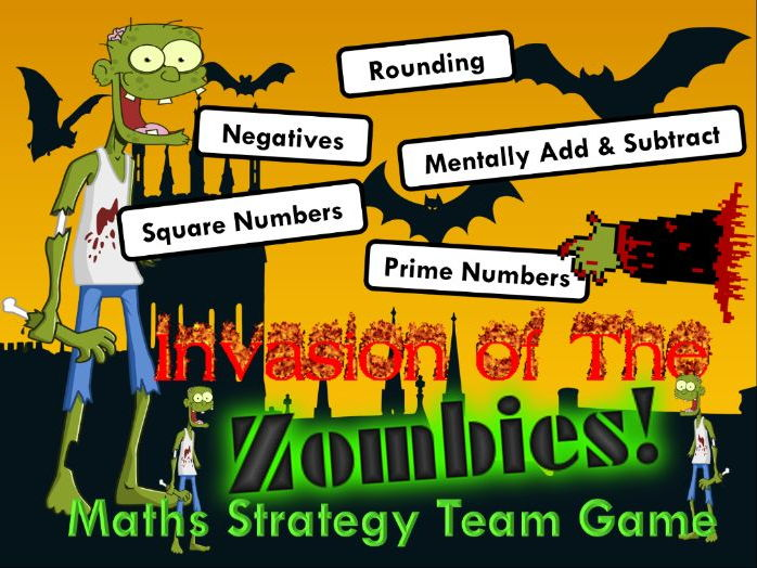 Number Skills  Maths Strategy Game - Zombie Edition