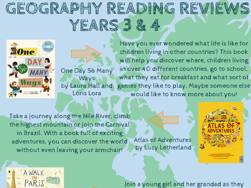 Geography-Themed Book Reviews & Reading Lists