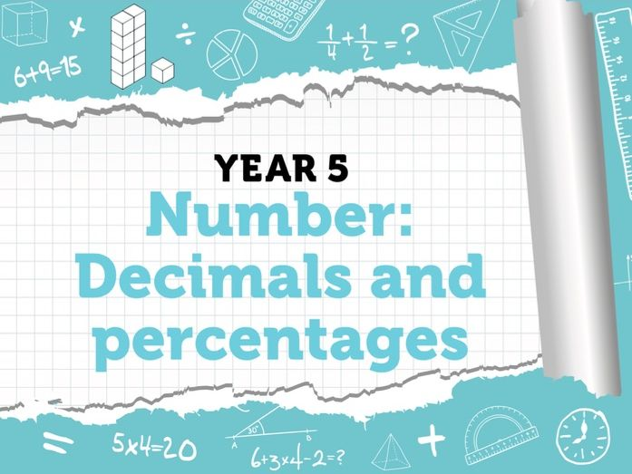 Year 5 Decimals and Percentages – White Rose Spring Week 10
