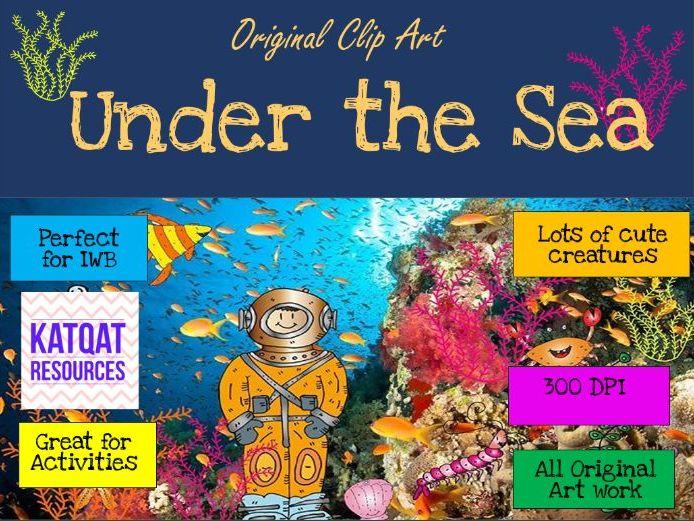 Under The Sea - Clip Art