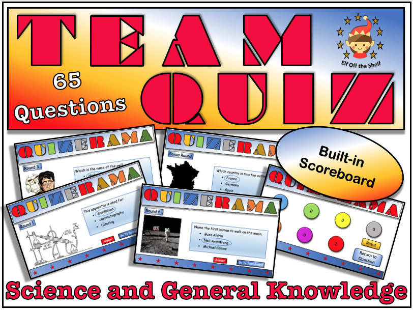 Science Quiz KS3 2019  - End of Year