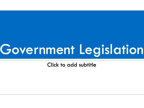 EdExcel GCSE History - American West - Government Legislation Exam Practice Lesson
