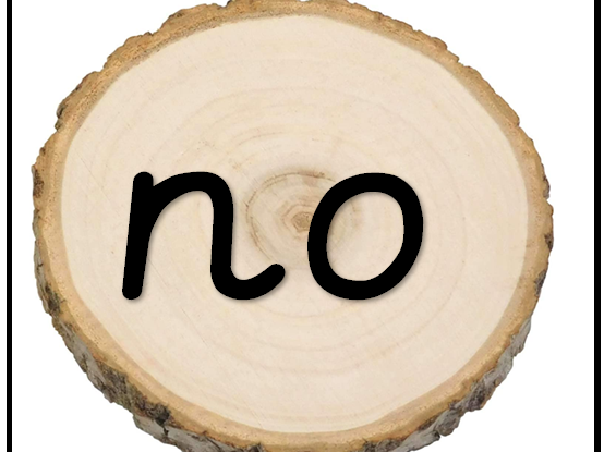 Phase 2 & 3 Tricky Words on Natural Logs
