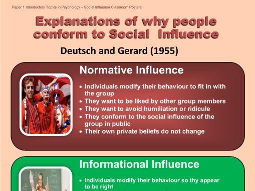 5) Resisting Social Influence