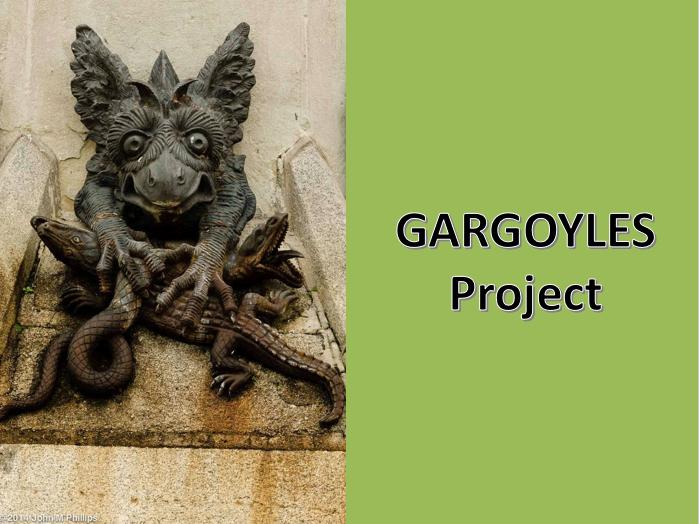 Gargoyles in Art (9 Lessons and 4 Homeworks)