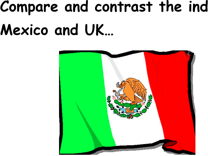 KS2 Compare and Contrast the Industries of UK and Mexico