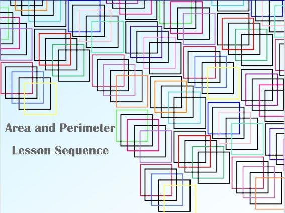 Area + Perimeter 6 Lessons - Smartboard - KS2
