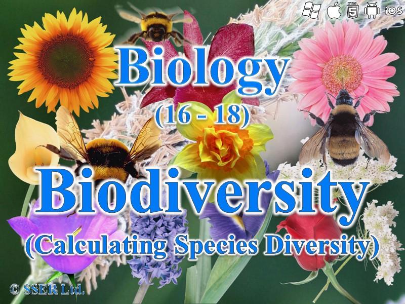 3.4.6 Biodiversity - Species Diversity Index (AQA, Edexcel & WJEC)