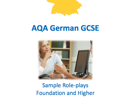 AQA German GCSE Speaking Workbook - Role-plays