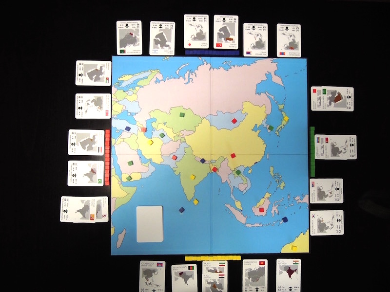 Asia 2019:  Geography Card Games