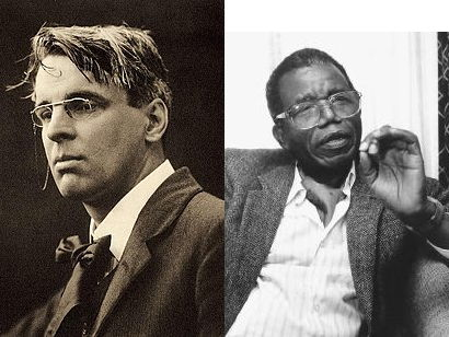 "W. B. Yeats: ""The Second Coming"" + context links to 'Things Fall Apart' (Achebe)"
