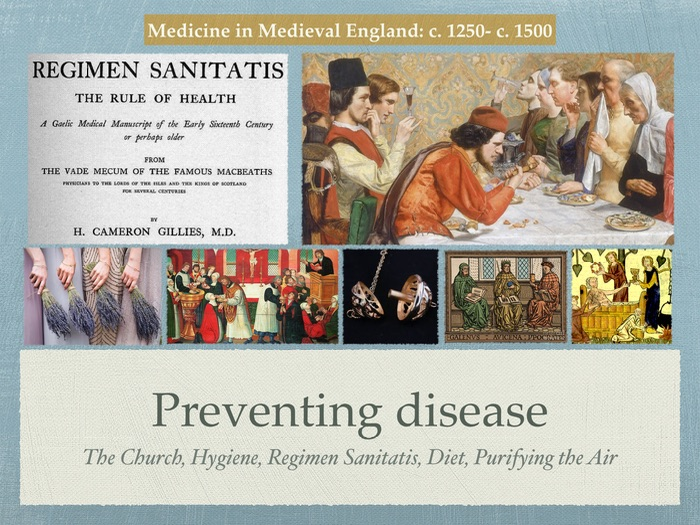 disease and treatment in the middle ages The best known disease of the middle ages, because of the destruction it caused, was the black death other diseases spread by vermin were problems, typhus being one water borne diseases, such as typhoid fever and dysentery, were problems.
