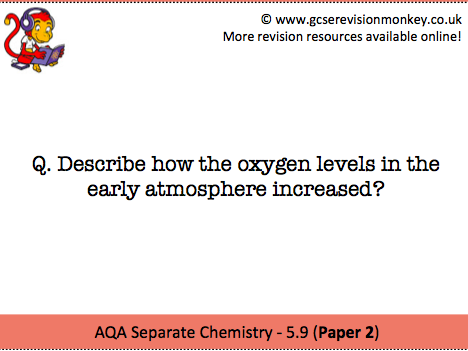 Revision Cards - AQA Separate Chemistry 5.9