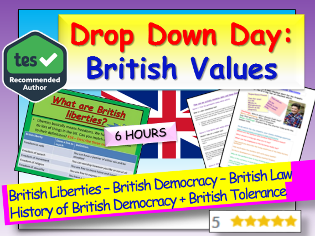 British Values Drop Down Day