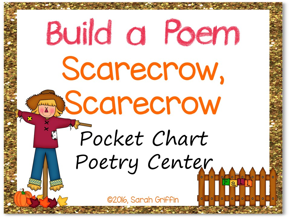 Build a Poem: Scarecrow, Scarecrow - Pocket Chart Center