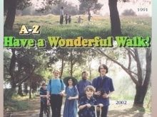 """Have a Wonderful Walk!"" Cursive Penmanship A-Z"