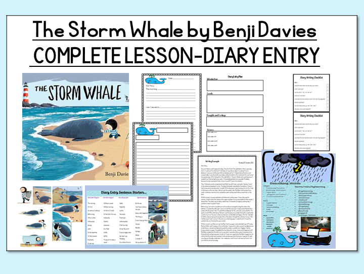 The Storm Whale - Planning and Writing a Diary Entry