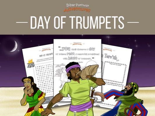 Day of Trumpets (Yom Teru'ah) Activity Book
