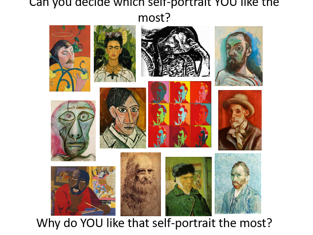What is a self-portrait?