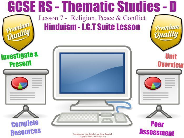 Hinduism - Religion, Peace & Conflict - Unit Overview / Revision (GCSE RS - L7/7] (Hindu Views)