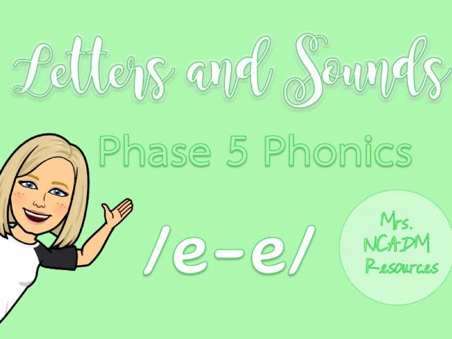 Phase 5a Phonics /e-e/ resource pack (Letters & Sounds)