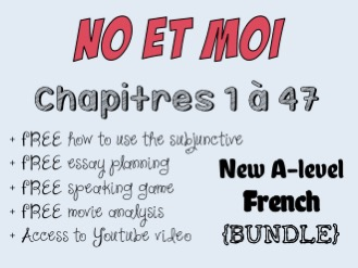 No et moi - Etude des chapitres 1 à 47 - Worth more than £66!! *More than £29 of OFFERED resources*