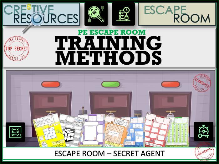 PE Escape Room - Training Methods