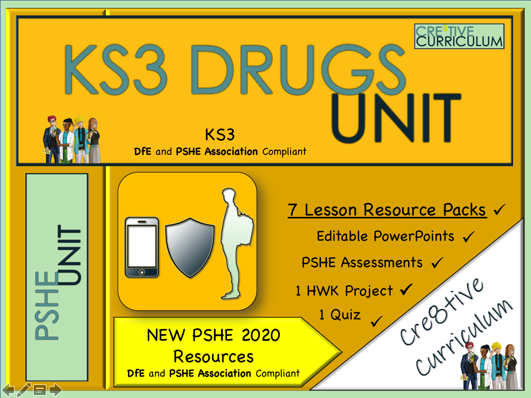 Drugs Education KS3 Bundle