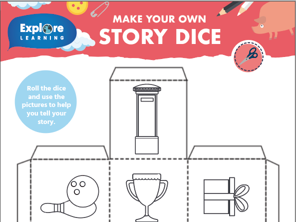 Free_Make your own story dice_Creative writing activity