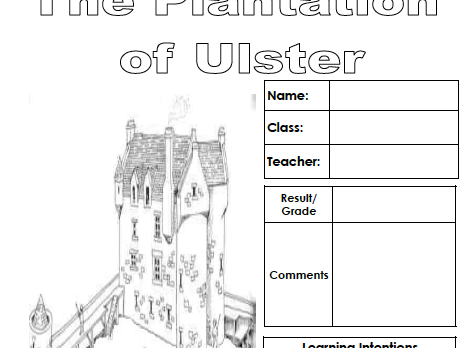 The Plantation of Ulster (Pupil work book)