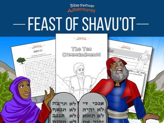 Shavuot (Pentecost) Activity Book